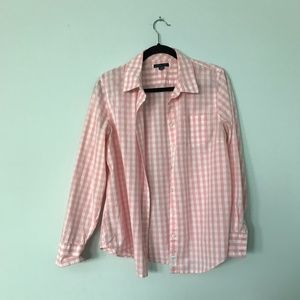 Tommy Hilfiger Lady's Pink Button Down Shirt